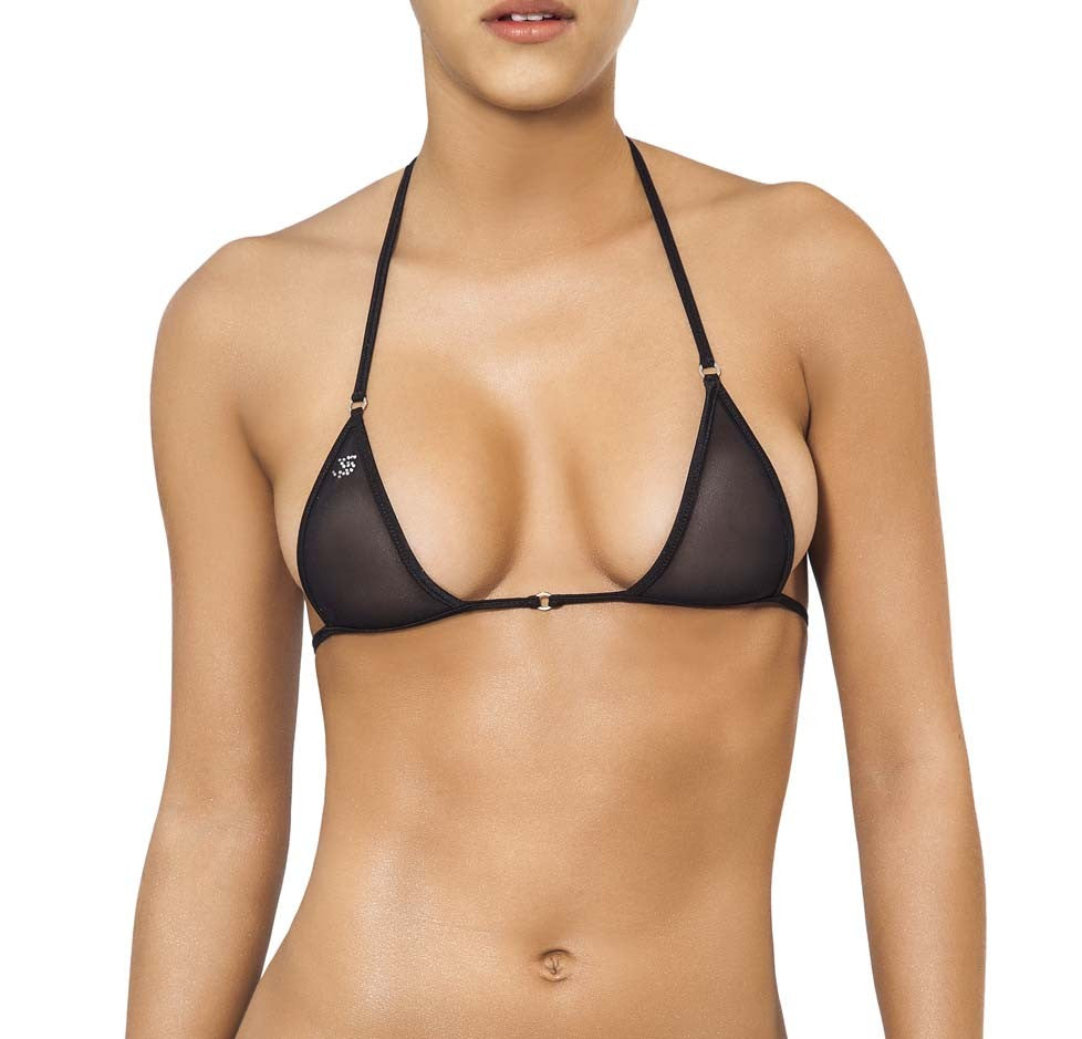 Joe Snyder Women Santorini Top Black Mesh-OS