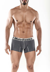 Malebasics Men's Cotton Fitted Boxer Short - Malebasics Canada - 1