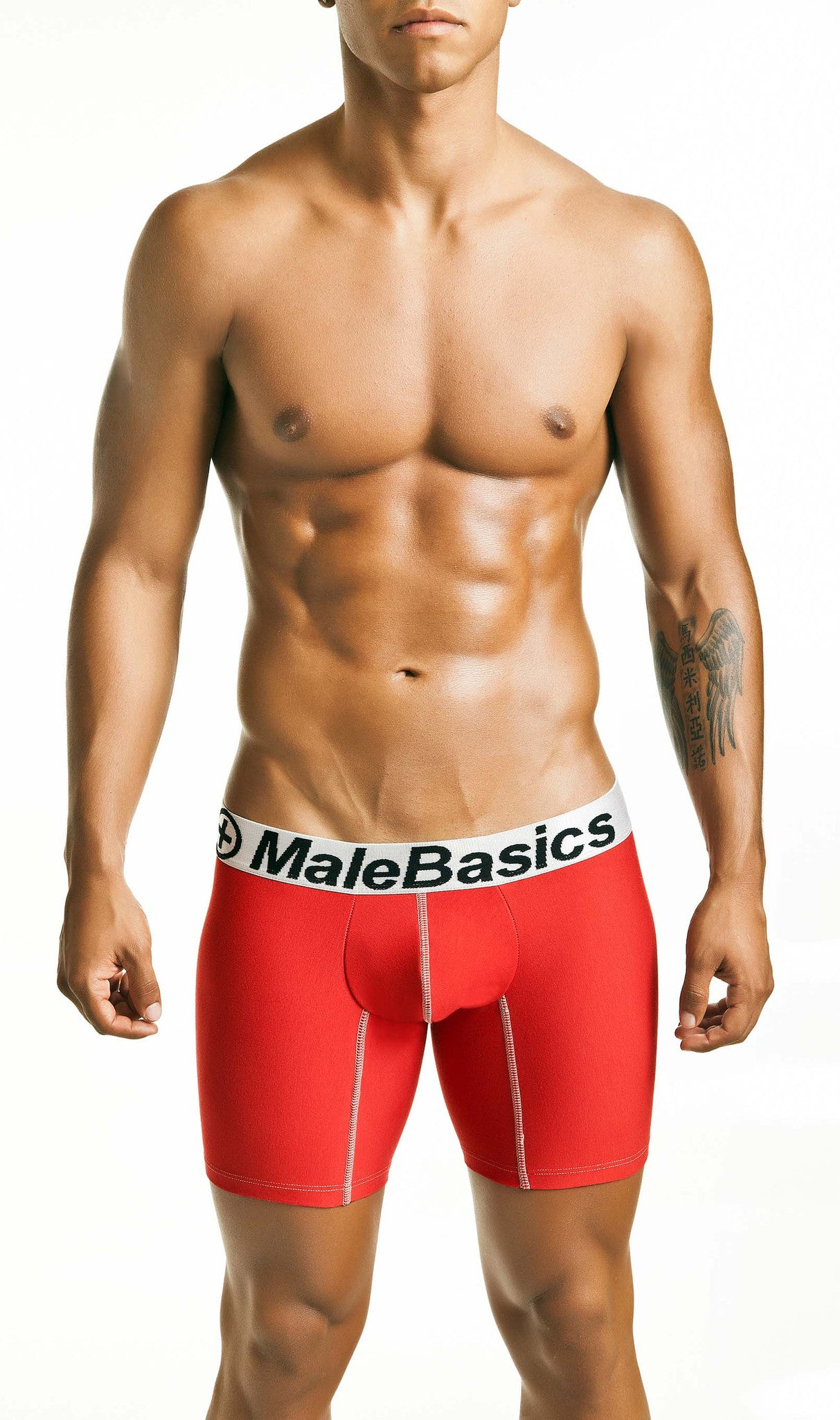 Malebasics Men's Cotton Fitted Boxer Brief - Malebasics Canada - 3
