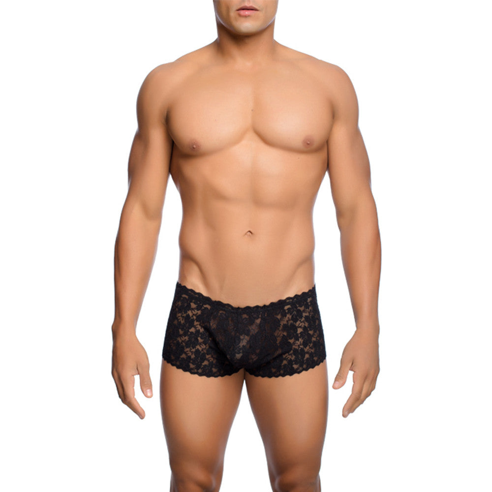 MOB Men's Lace Boxer Short - Malebasics Canada - 1