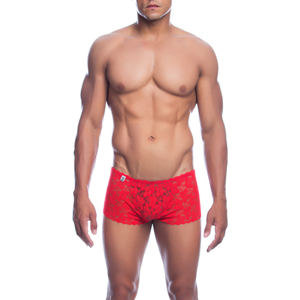MOB Men's Lace Boxer Short - Malebasics Canada - 3