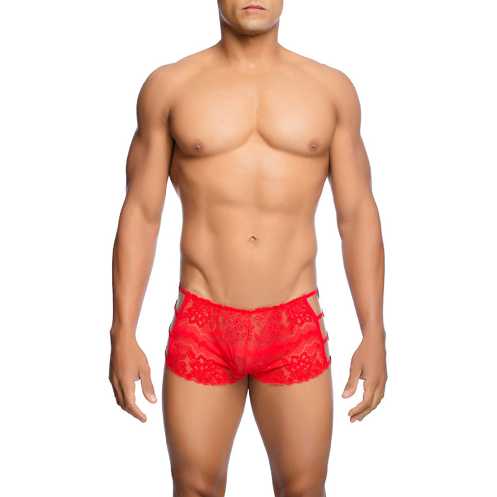MOB Men's Lace Open Side Boxer Short - Malebasics Canada - 2