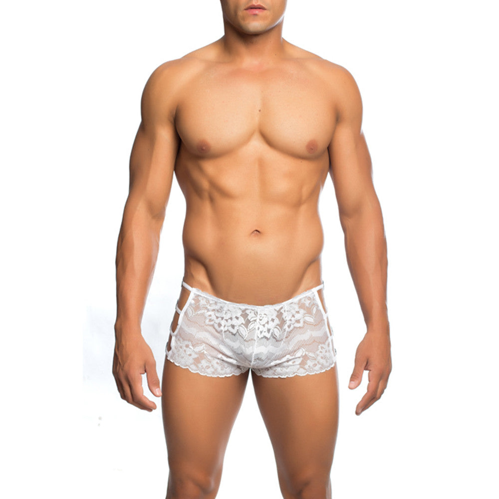 MOB Men's Lace Open Side Boxer Short - Malebasics Canada - 3