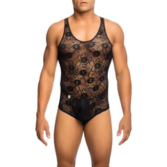 MOB Men's Lace Bodysuit - Malebasics Canada - 1
