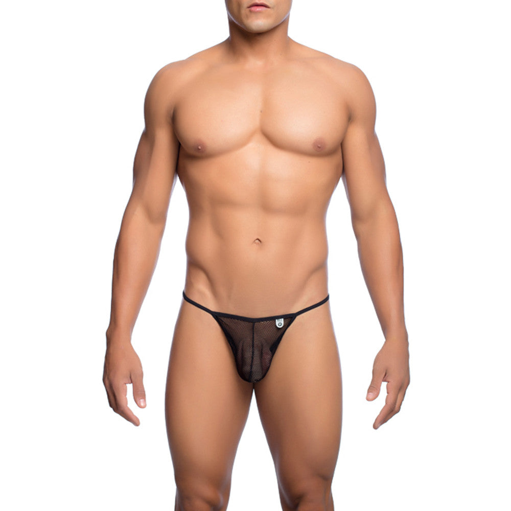 MOB Men's Fishnet Thong - Malebasics Canada - 1