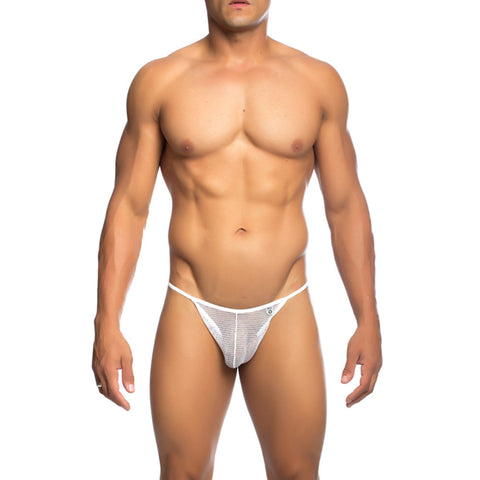 MOB Men's Fishnet Thong - Malebasics Canada - 3