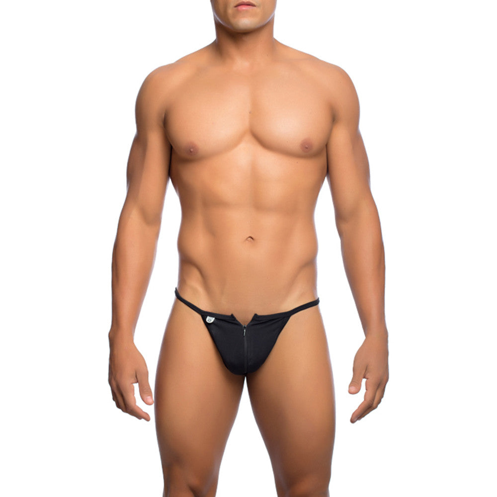 MOB Men's Front Zipper Thong - Malebasics Canada - 1