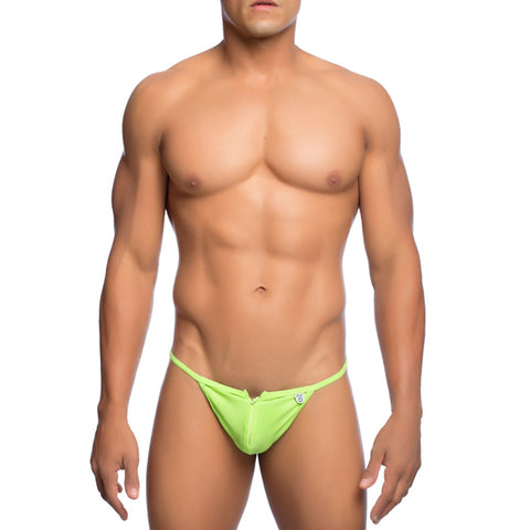 MOB Men's Front Zipper Thong - Malebasics Canada - 2