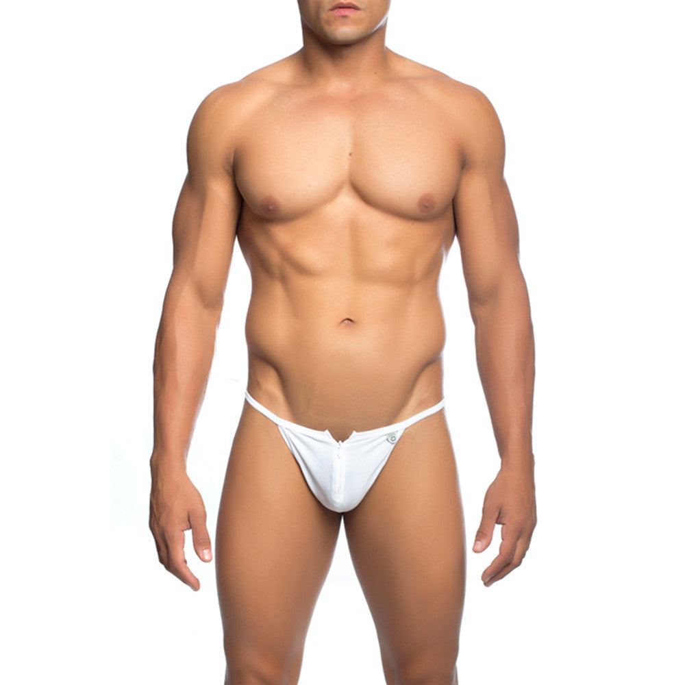 MOB Men's Front Zipper Thong - Malebasics Canada - 7