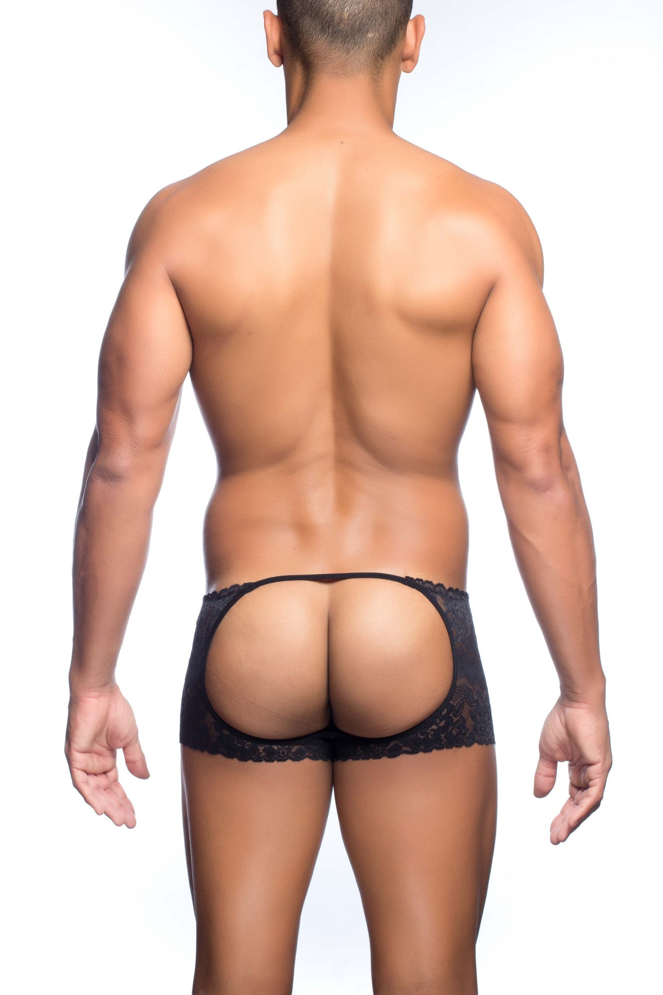 MOB Lace Open Back Boxer