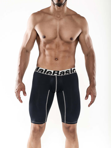 Malebasics Men's Base Layer Performance Boxer Brief Large - Malebasics Canada - 1