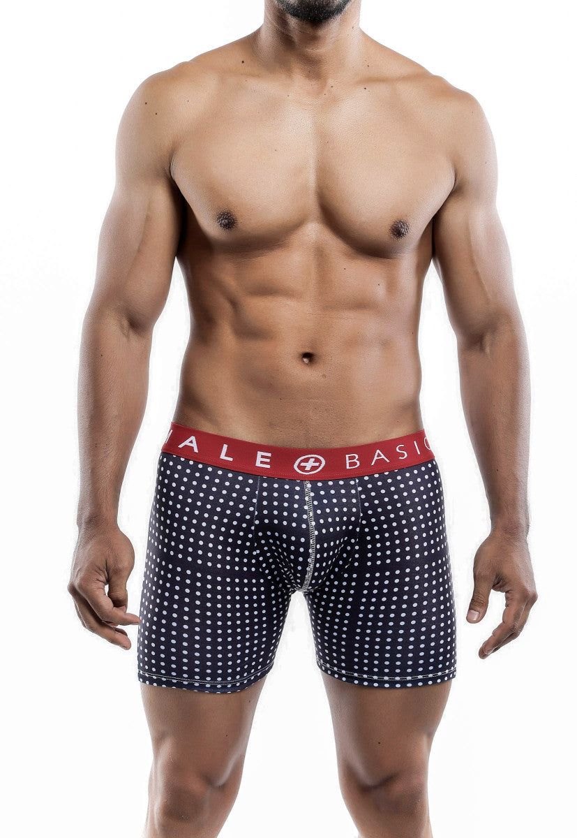 Malebasics Men's New Three Pack Cotton Lycra Boxer Brief