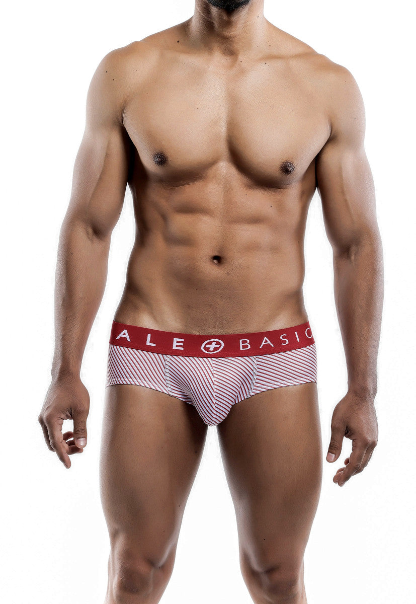 Malebasics Men's New Three Pack Cotton Lycra Brief