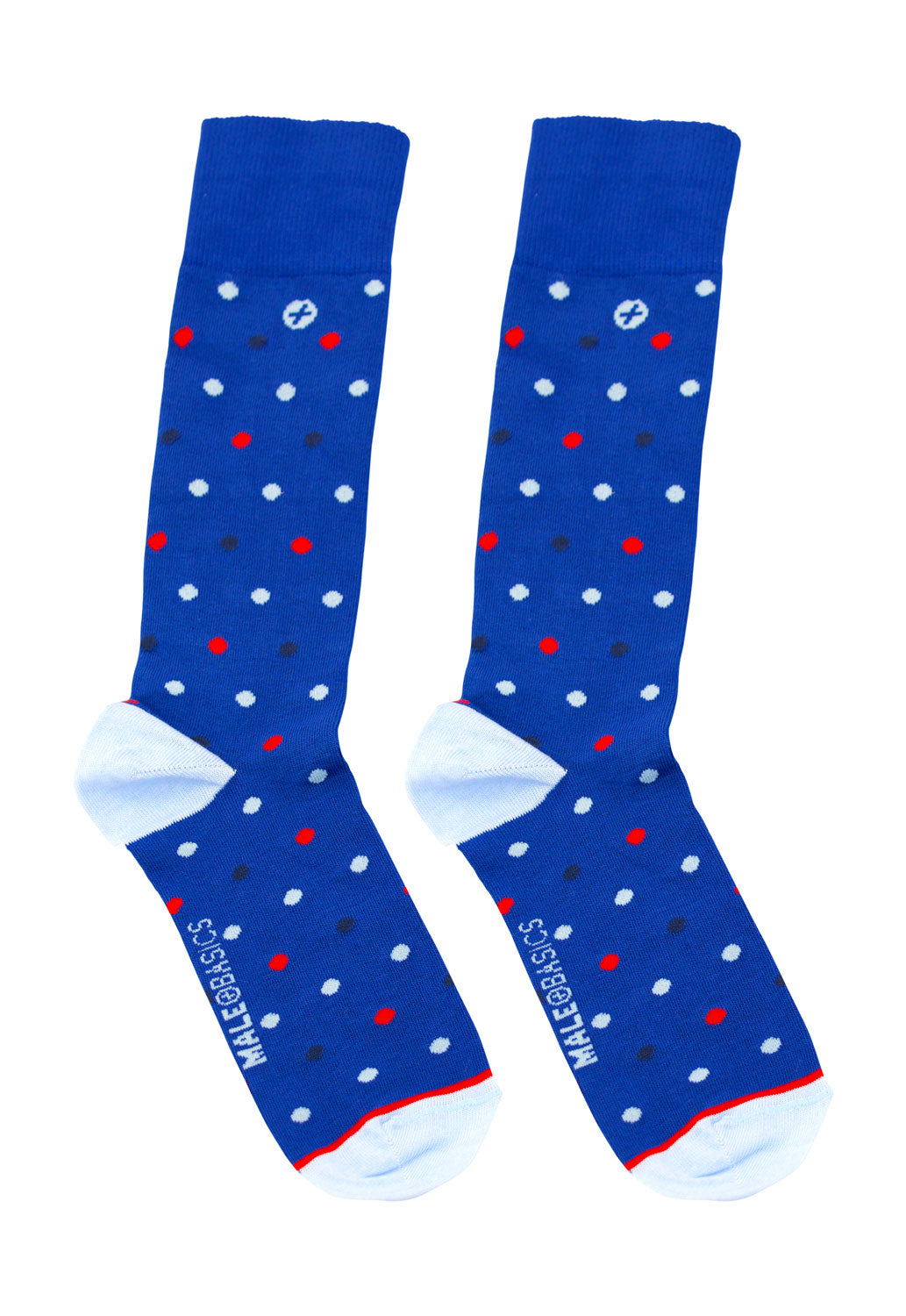 Malebasics Fun Sock-Polca