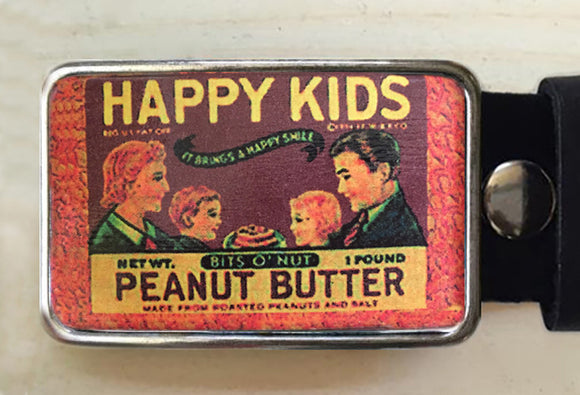 Happy Kids Peanut Butter Belt Buckle