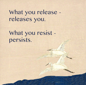 What You Release