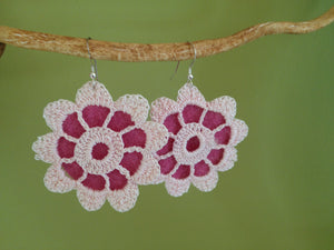 Vintage Lace Earrings - Red Dove Studios