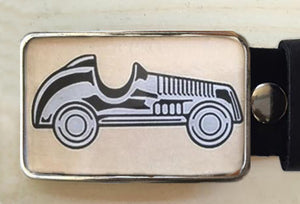 Monopoly Car Belt Buckle - Red Dove Studios - 1