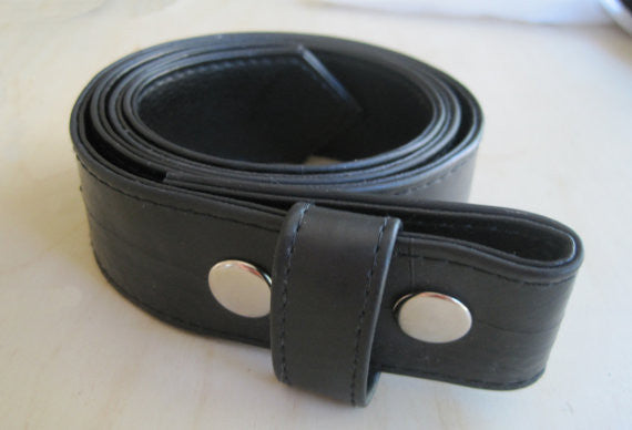 Recycled Rubber Bike Tire Belt - Red Dove Studios