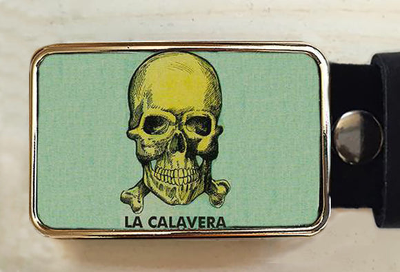 Calavera Day of the Dead Belt Buckles. - Red Dove Studios - 1
