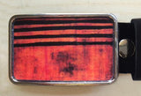 Rust & Amber Belt Buckle - Red Dove Studios - 1