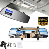 Rearview Mirror Smart Back Up Cam Video Recorder