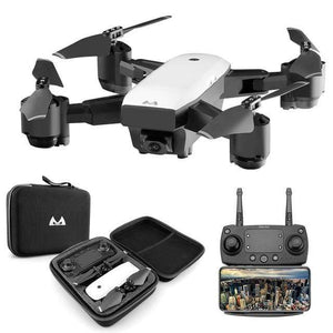 SMRC High-Res Pocket GPS Quadcopter Drone - (Pro Grade)