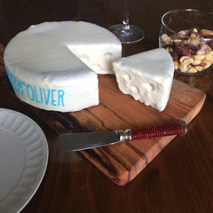 Custom Dog Cake Cheese Wheel