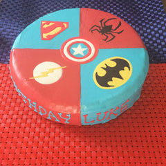 Superhero Dog Cake