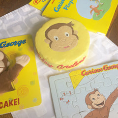 Curious George Dog Cake