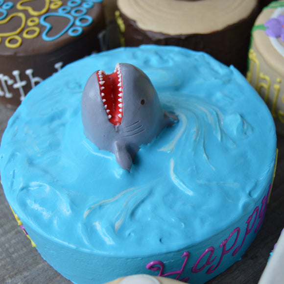 Dog Cake Shark Attack
