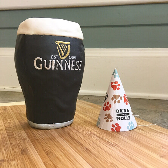 Guinness Dog Cake