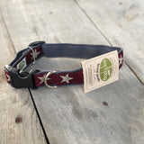 Star Hemp Dog Collar
