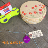 Big Dog Birthday Cake Garden