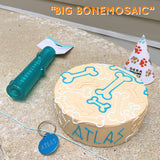 Big Dog Birthday Cake Bones