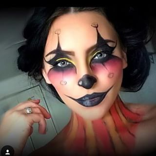 Halloween Makeup Ideas: Clown