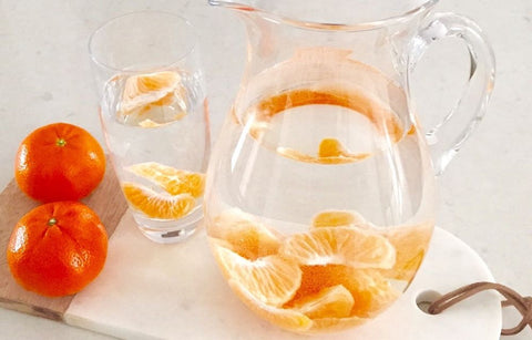 Clementine DIY Infused Water