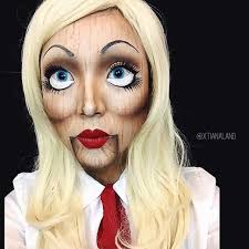 Halloween Makeup Ideas: Doll