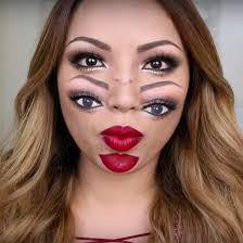 Halloween Make Up Ideas: Two-Faced
