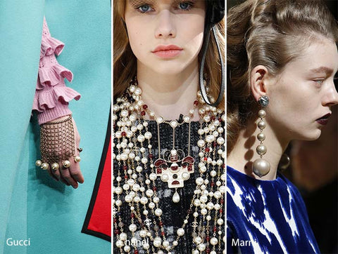 New York Fashion Week Trends: Pearls on Pearls on Pearls