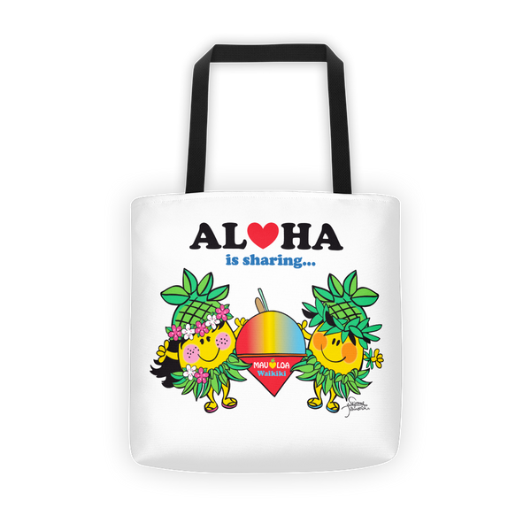 Aloha is Sharing Tote Bag