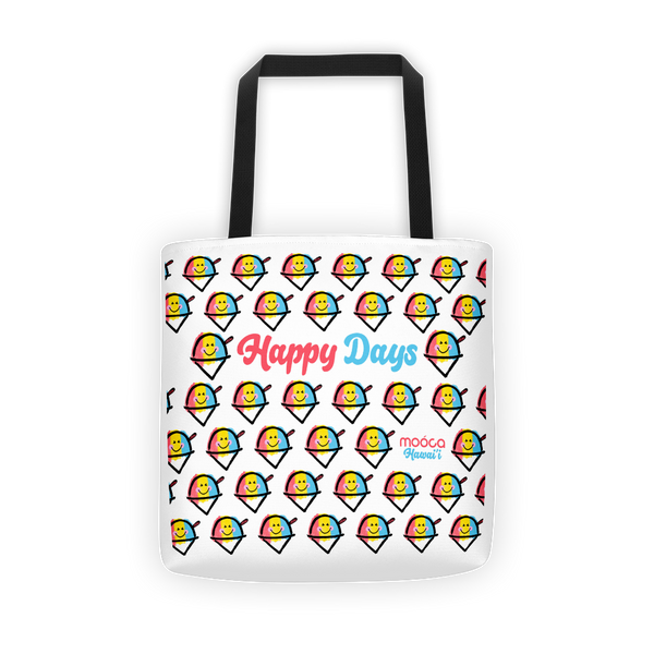 Just Happy Tote Bag