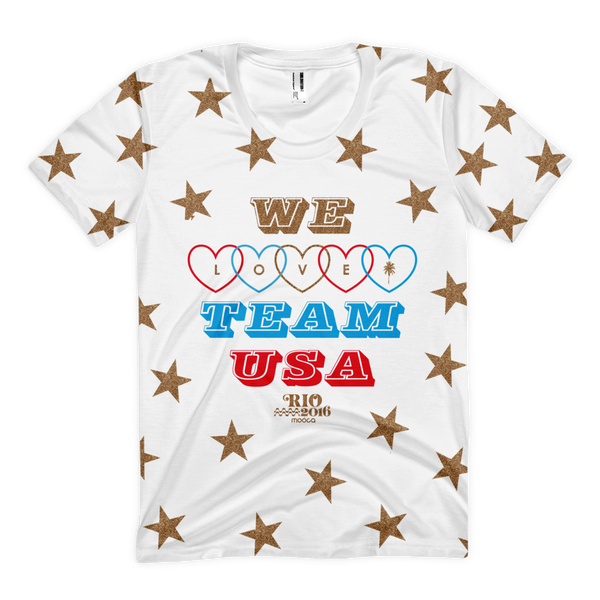 We Love Team USA Tee