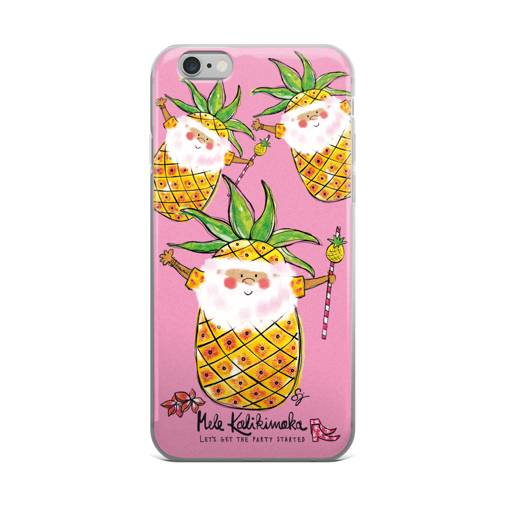 Pina Colada Santa - iPhone Case