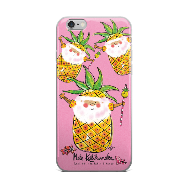 Pina Colada Santa - iPhone 5/5s/Se, 6/6s, 6/6s Plus Case