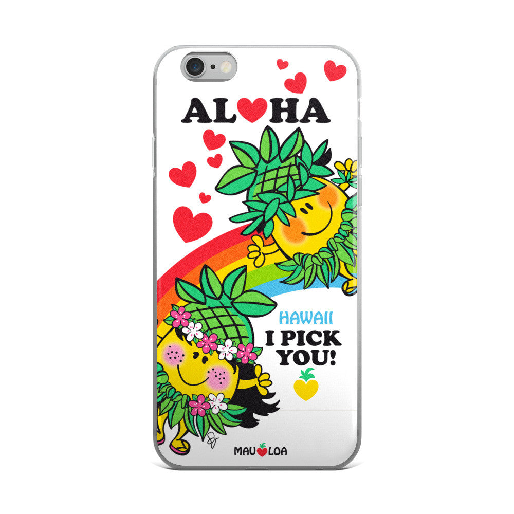 I Pick You ❤️ iPhone Case