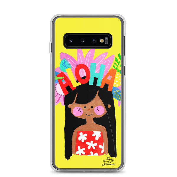 Aloha Girl Samsung Phone Case
