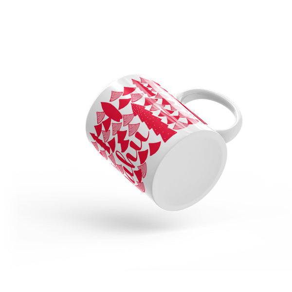 Oahu Holiday Mug Red