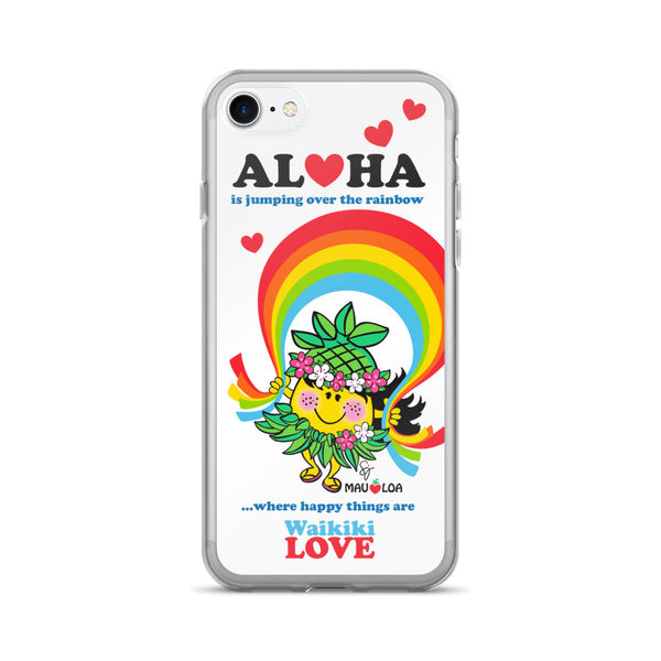 Aloha is jumping over the rainbow - iPhone 7/7 Plus Case