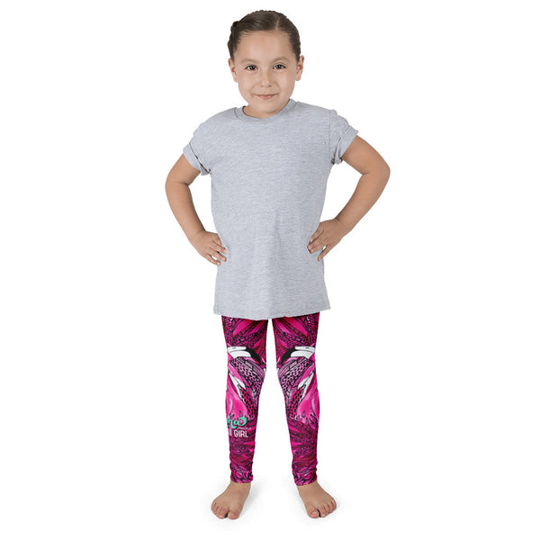 Kid's leggings - Pink Flamingo